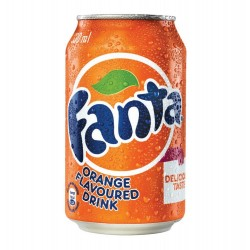FANTA ORANGE 330ML 24 CASE