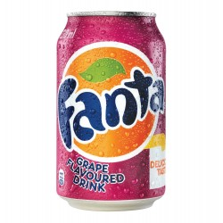 FANTA GRAPE 330ML 24 CASE