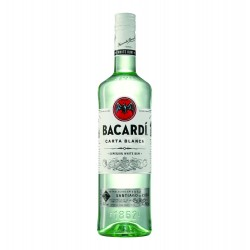 BACARDI CARTA BLANCA (WHITE) 750ml
