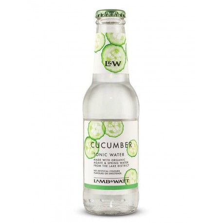 Lamb & Watt Cucumber Tonic Water 200ML 4 PACK